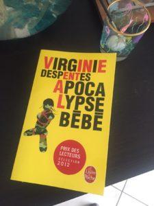Apocalypse bébé, Virginie Despentes